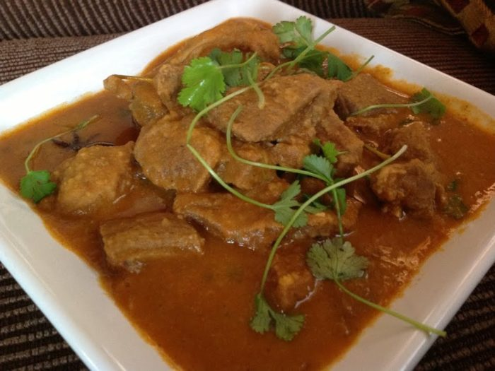 Daal Gosht (Dhal Gosht, Dhall and Mutton)